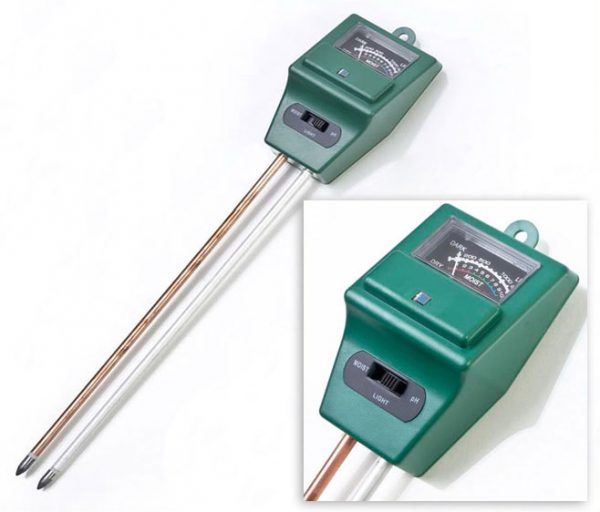 Наличие прибора для измерения кислотности грунта — обязательное условие для выращивания трюфелей