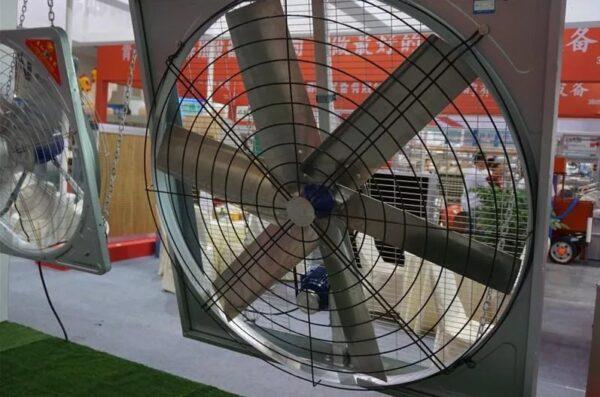 Нагнетательный вентилятор для теплицы