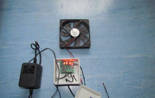 Вентиляция с помощью компьютерного кулера