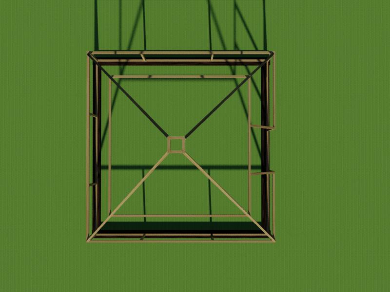 Расположение вентиляционного окна