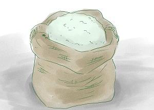 Способ №1. Использование соли