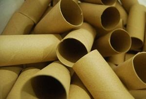 Тубы от туалетной бумаги