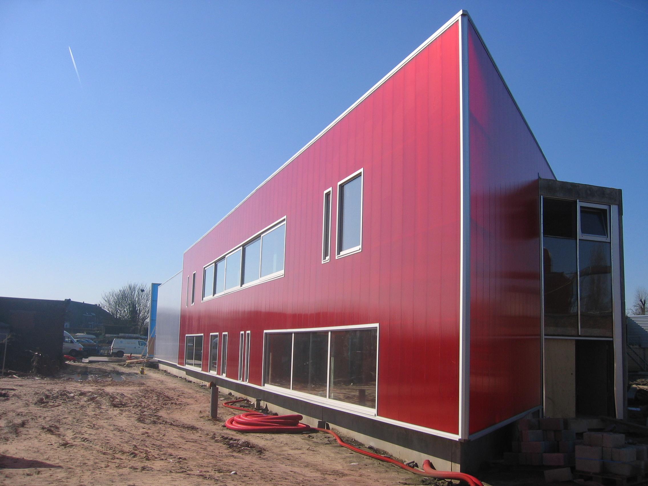 Фасад из поликарбоната
