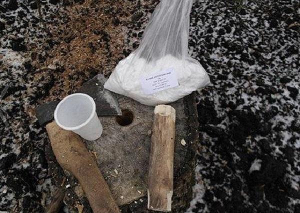Химические способы уничтожения деревьев