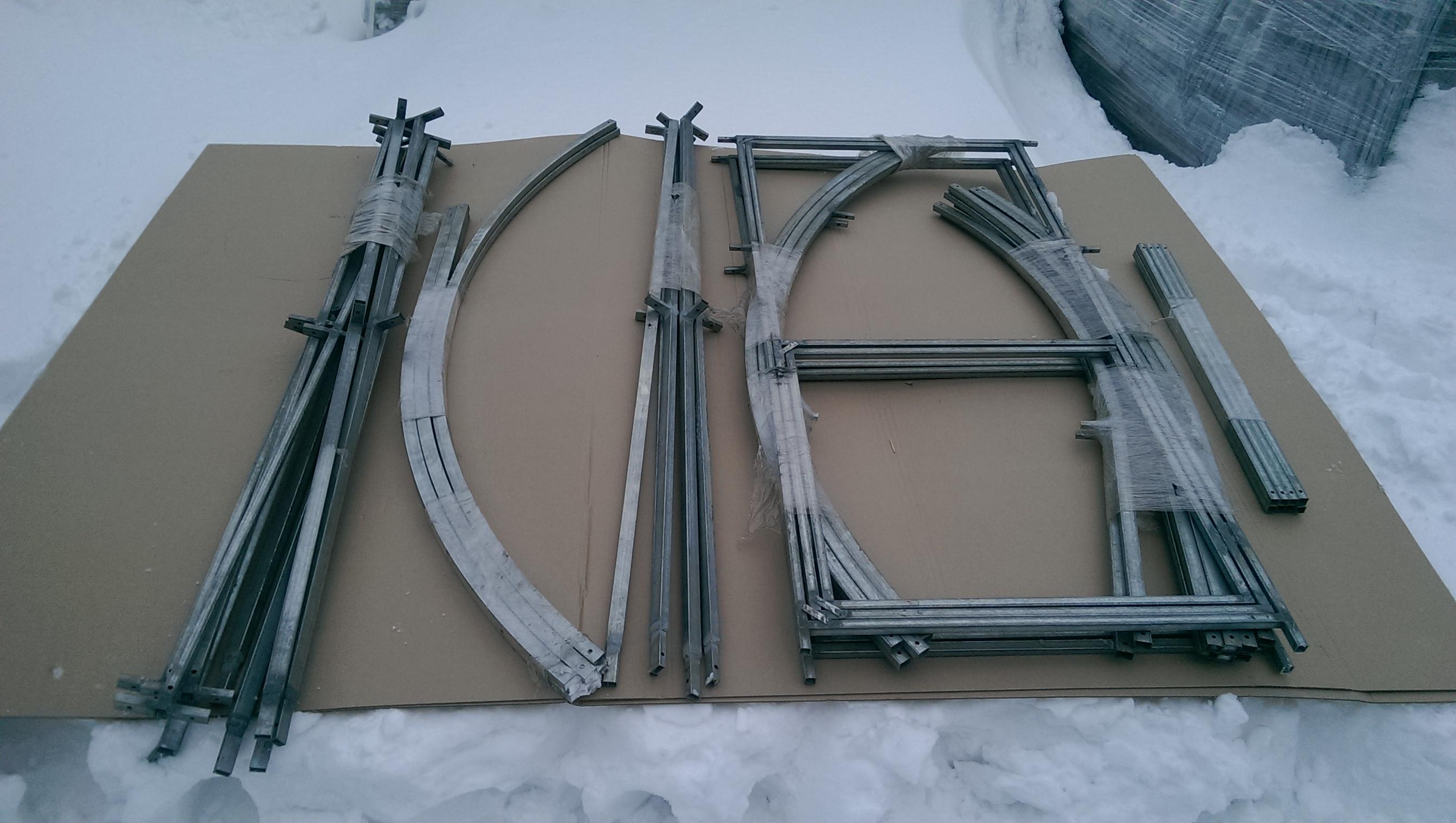 Комплект для сооружения теплицы «Дачница-Усиленная»