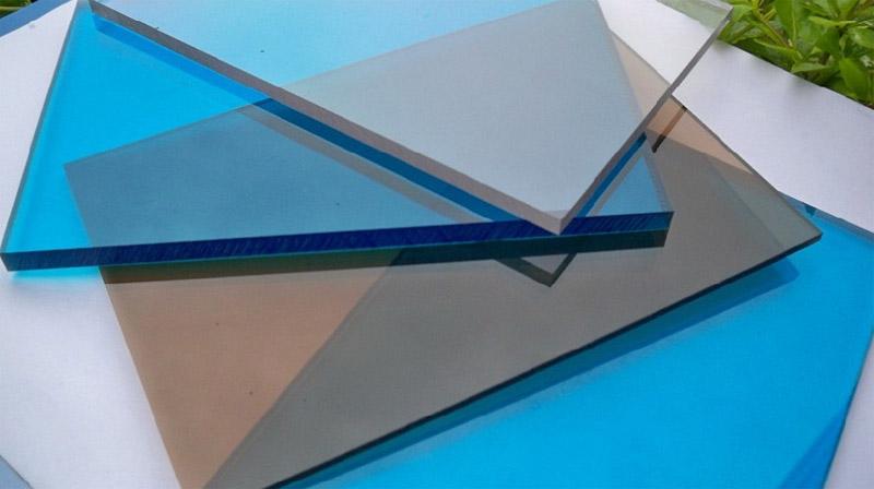 Популярные цвета монолитного поликарбоната
