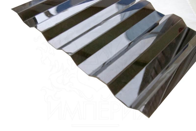 Профилированный поликарбонат Borrex (бронза, серый), 0,8 мм