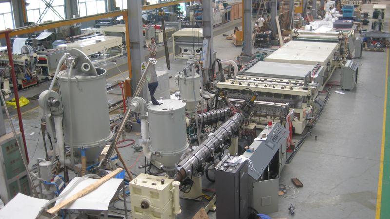 Производство монолитного поликарбоната