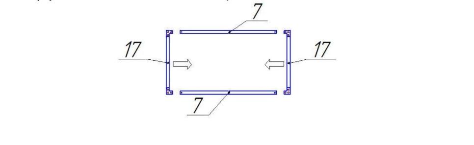 Схема сборки форточки