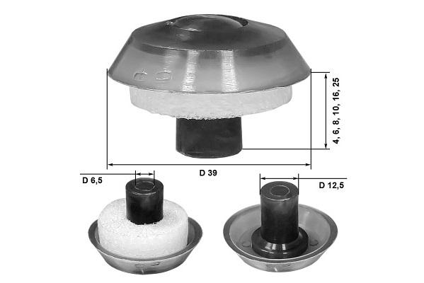 Термошайбы с УФ-стабилизатором для конструкций из сотового поликарбоната