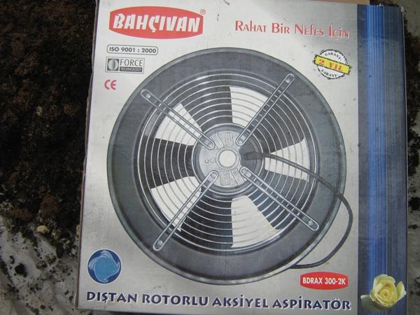 Вентилятор для теплицы
