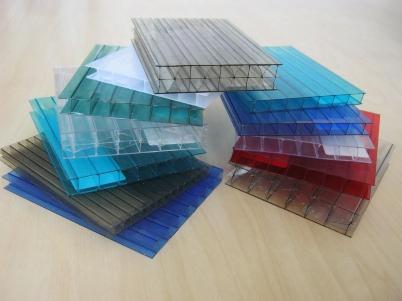 Выбор цвета поликарбоната