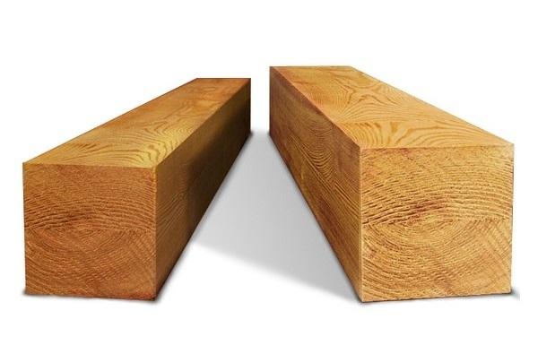 Брус деревянный 100x100