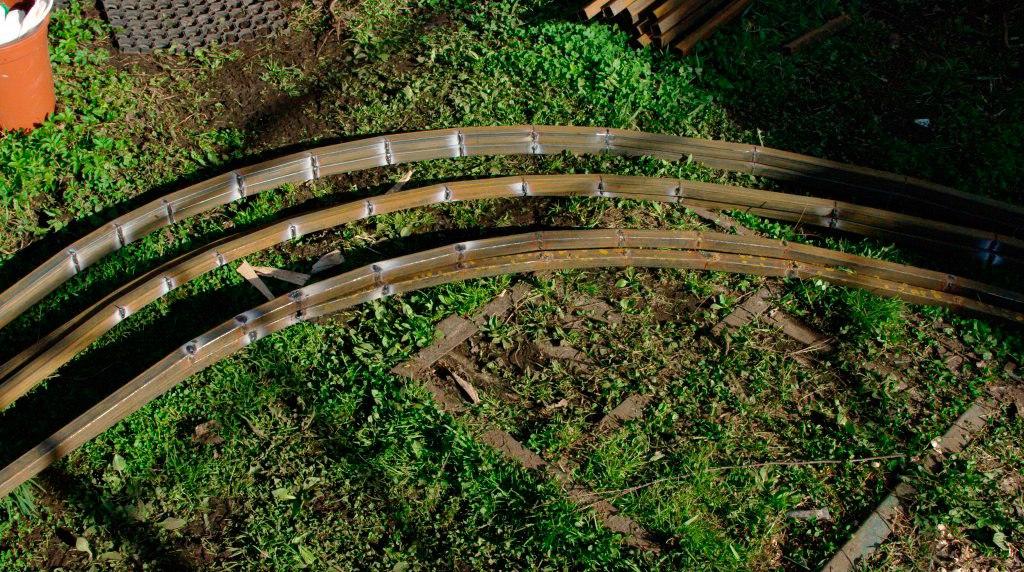 Готовые арки с заваренными надрезами