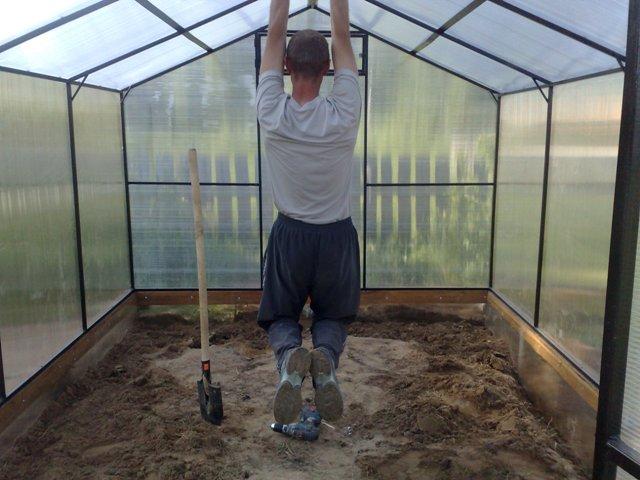 Как отремонтировать крышу теплицы - ЛЕГИОН