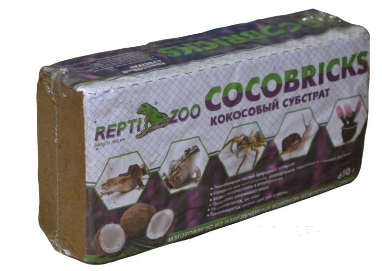 Кокосовый субстрат в брикетах как использовать для улиток