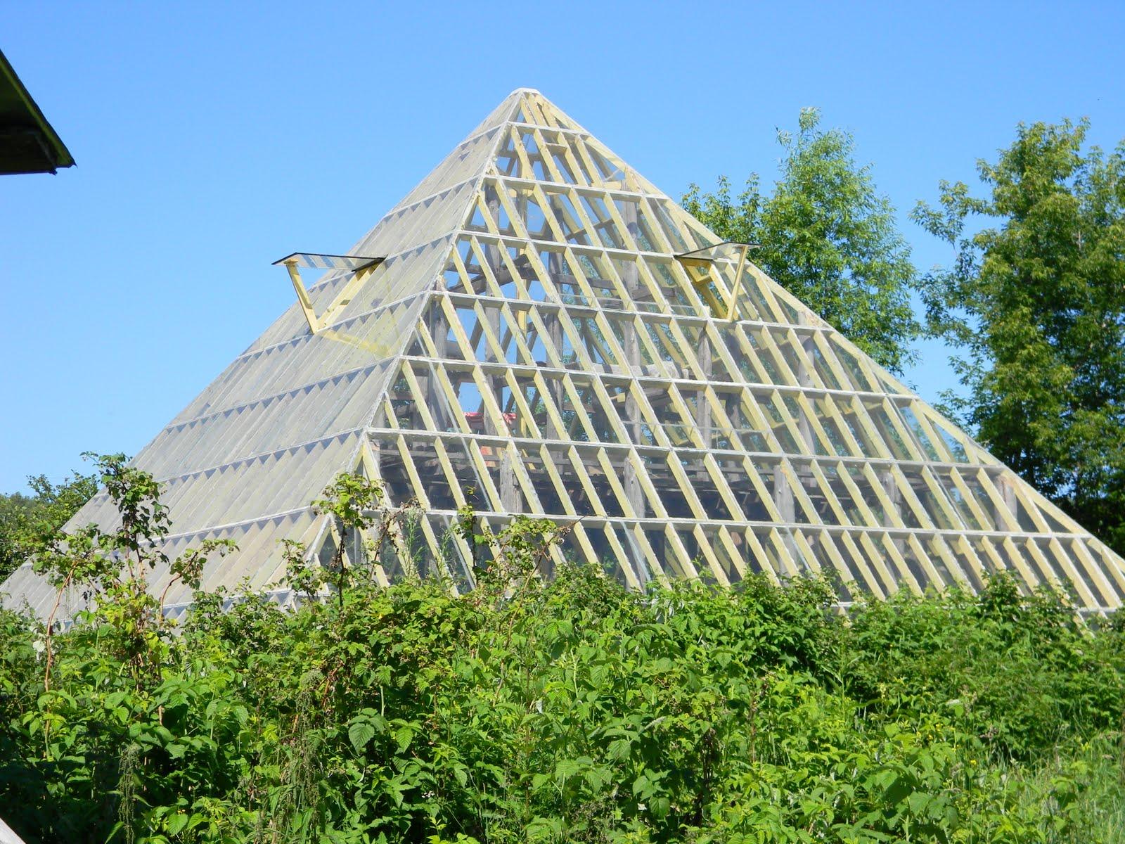 Теплица в форме пирамиды своими руками 22