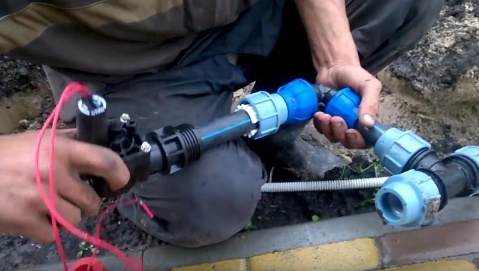 Подключение электромагнитного клапана