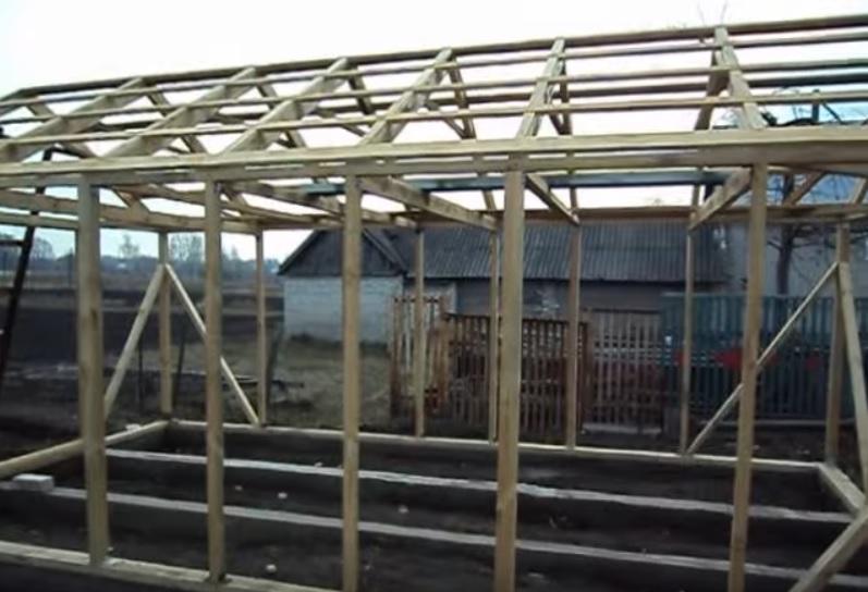 Пример обрешетки крыши
