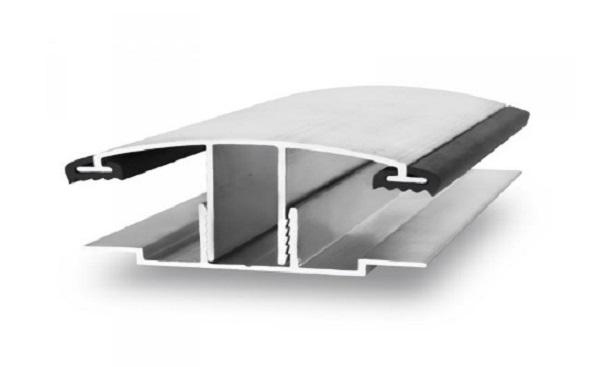 Соединительный алюминиевый профиль для поликарбоната