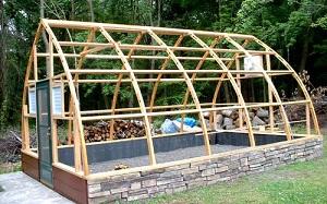 Подготовка деревянного каркаса
