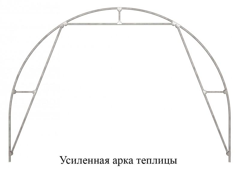 Усиленная арка теплицы