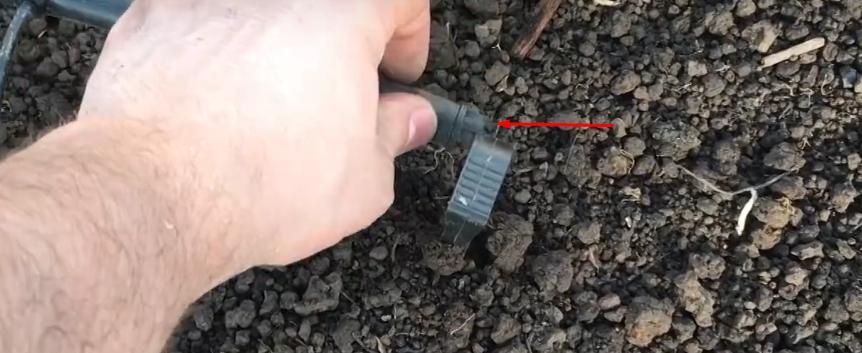 Заглушка на конце шланга