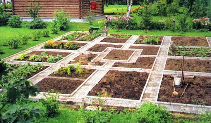 Французский огород с ленивыми грядками