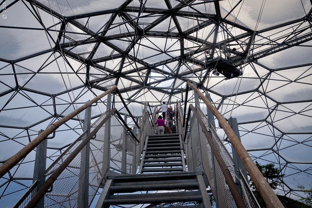 Лестница под купол