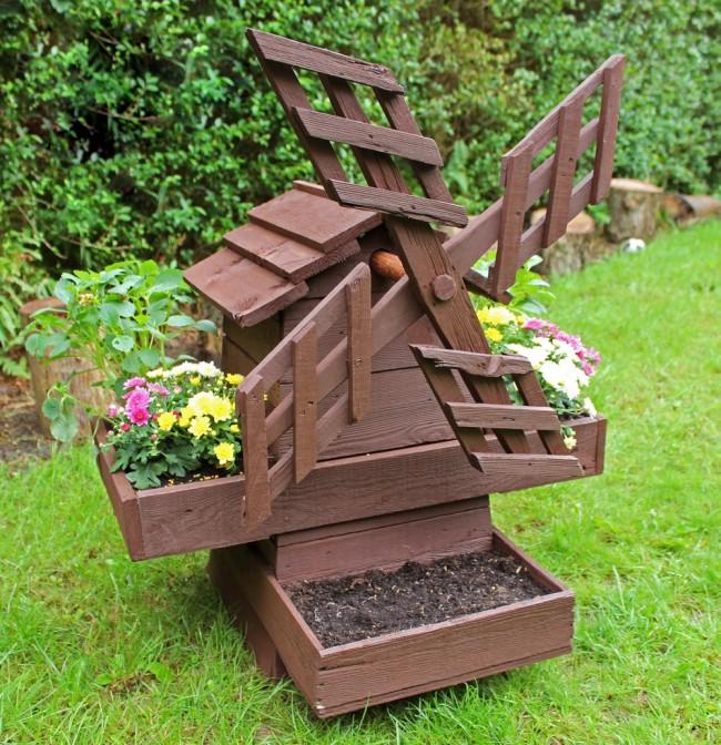 Мельница своими руками для сада
