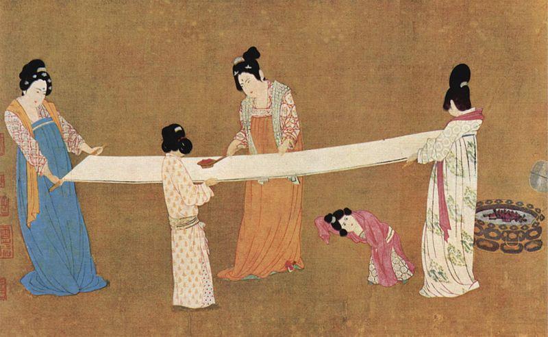 Первая туалетная бумага появилась в Китае