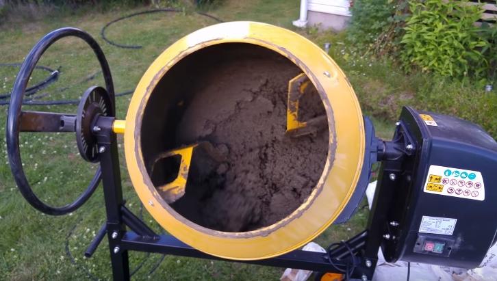Приготовление бетонного раствора