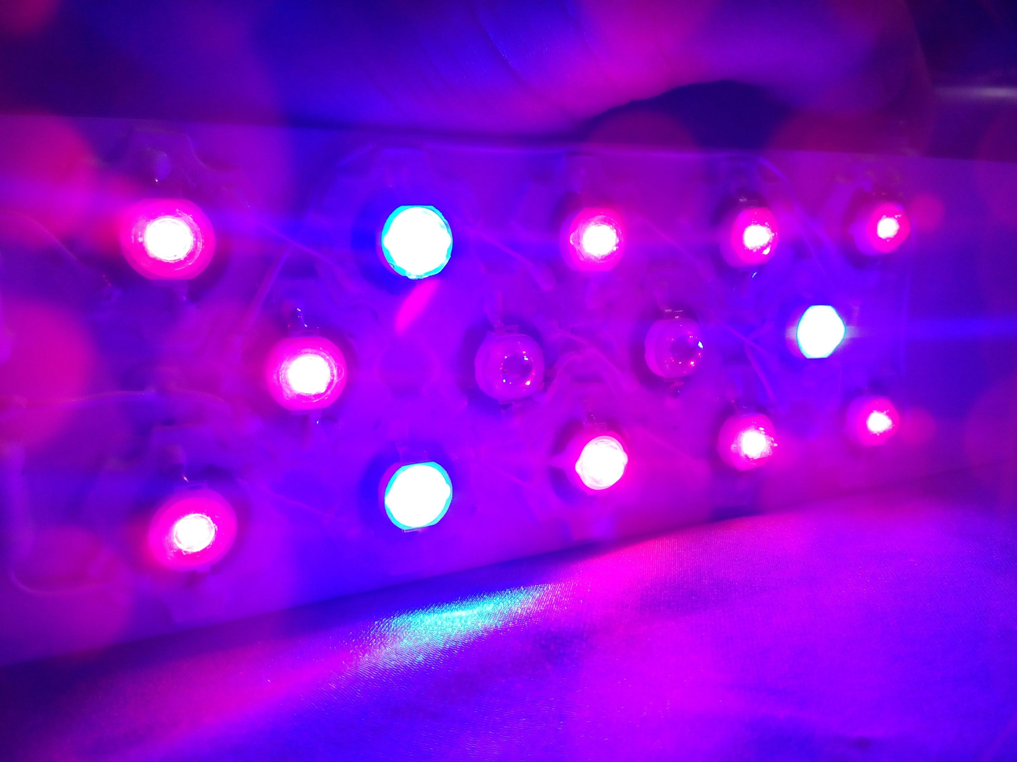 Светодиодные (LED) лампы для растений
