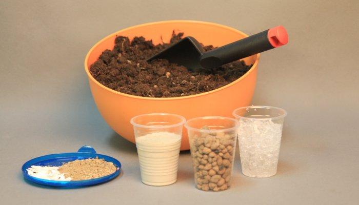 Компоненты грунта для рассады