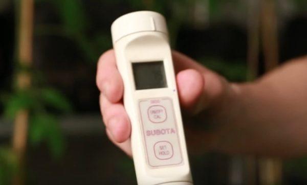 Использование pH-метра