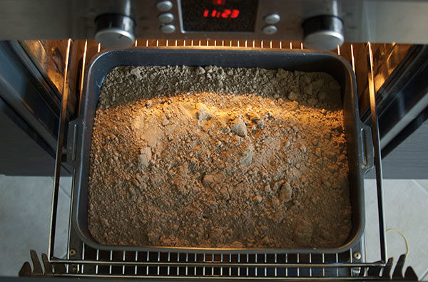 Прокаливание грунта для рассады в духовке